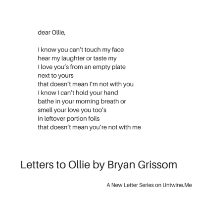 all I want for you is a letter I don't need to write