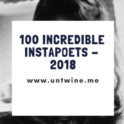 100 INCREDIBLE INSTAPOETS OF 2018: ANGELA MARIE