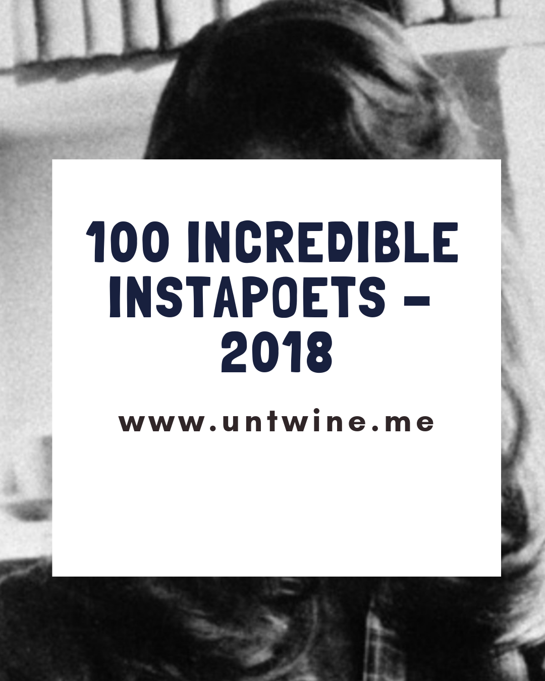 100 INCREDIBLE INSTAPOETS OF 2018: SUSAN BE POETRY
